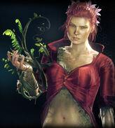 Arkham Knight Poison Ivy profile