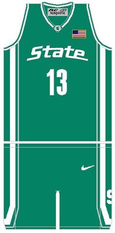 File:MichiganStSpartansBasketballJersey 2005.jpg