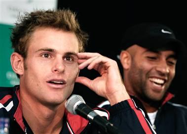 File:Roddick and Blake - Davis Cup.jpg