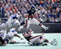 AAHA188 8x10-Action~Walter-Payton-Posters