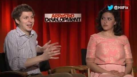 Arrested Development - Michael Cera & Alia Shawkat Interview