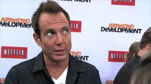 Arrested Development Season 4 WIll Arnett Premiere Interview