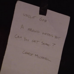 George Michael leaves a note for G.O.B. <span style=