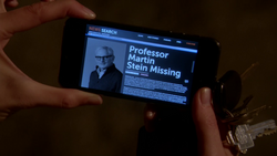 Professor Martin Stein Missing News Search