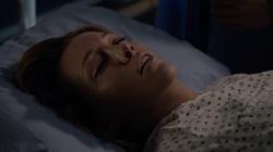 Laurel on her deathbed