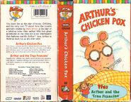 Arthur S Chicken Pox Vhs Arthur Wiki Fandom Powered