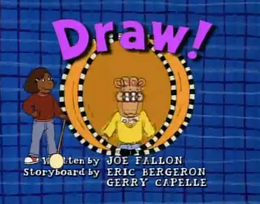Draw! Title Card