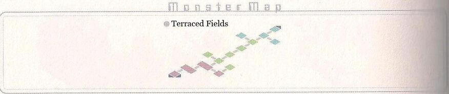 Terraced Fields Monster Map