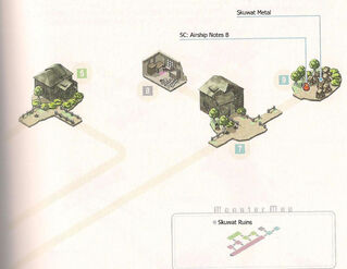 Skuwat Ruins Map 2 and Monster Map