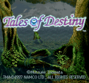 Title Screen (ToD PSX)