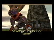 Strange Sightings Splash Screen