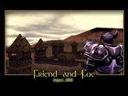 Friend and Foe Splash Screen