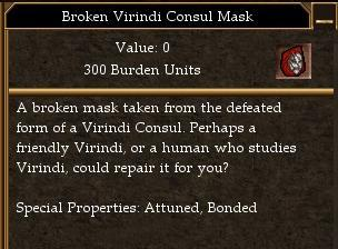 Broken virindi consul mask asheron 39 s call community wiki for Consul database