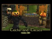 Tricks and Treats Splash Screen