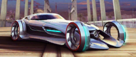 Image a8 mercedes benz silver lightning in game for Mercedes benz silver lightning cost