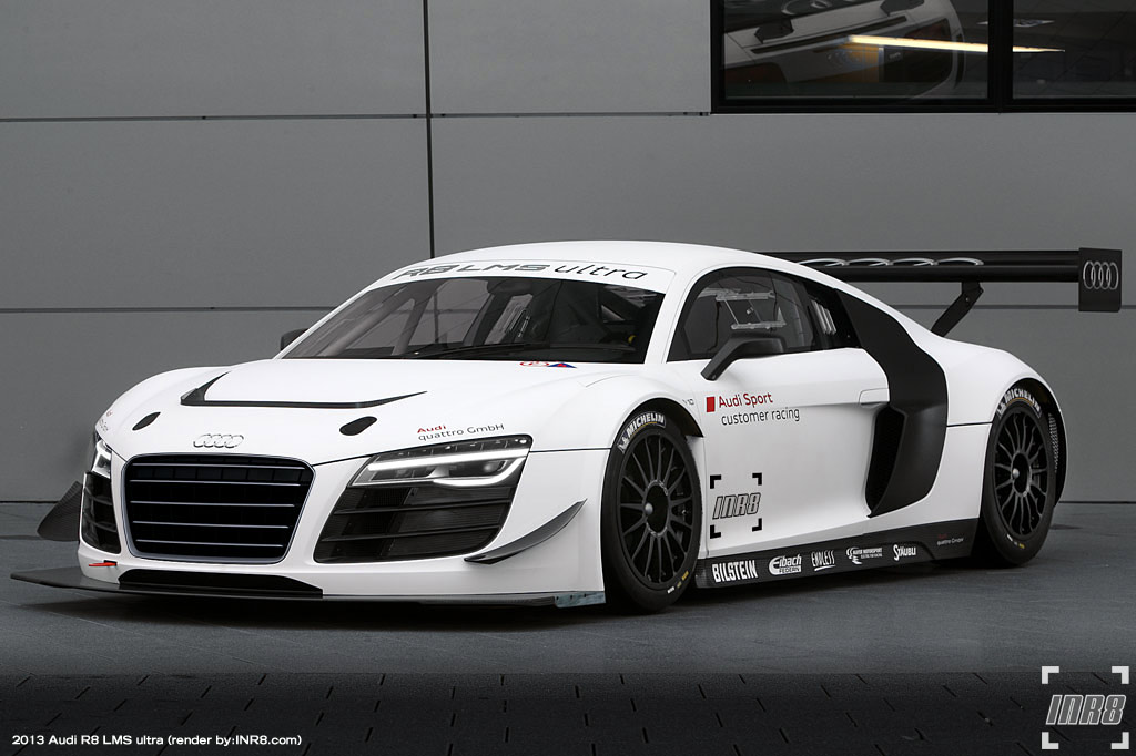 image 2013 audi r8 lms ultra render inr8. Black Bedroom Furniture Sets. Home Design Ideas