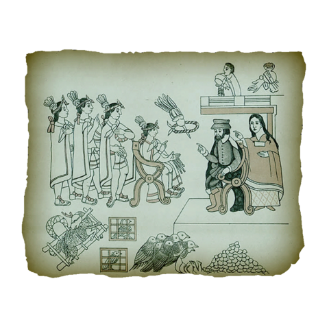 File:AC4BF Cortez and La Malinche from the History of Tlaxcala.png
