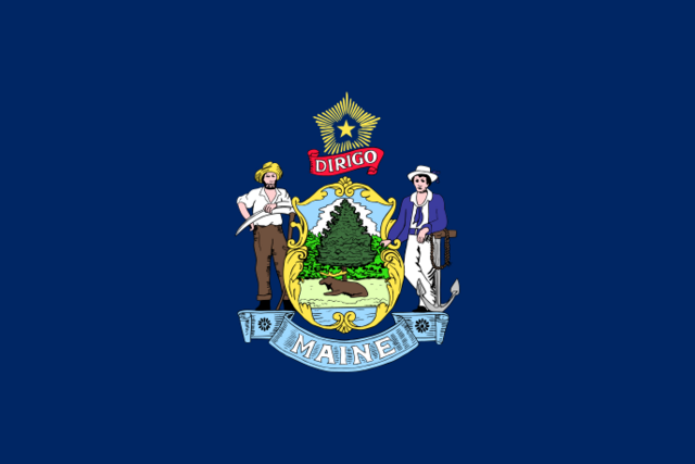 File:Flag of Maine.png