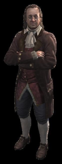AC3 Benjamin Franklin render