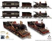 ACS Train Hideout Locomotive 2 - Concept Art