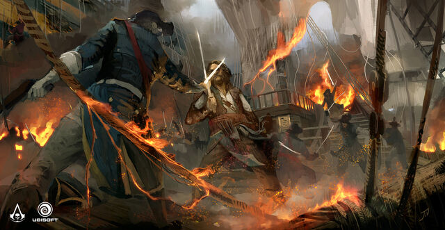 File:AC4 North Carolina Deck Fight - Concept Art.jpg