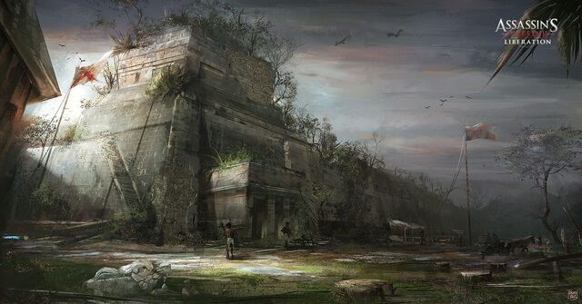 File:Assassin's Creed III Liberation - Ball court by nachoyague.jpg