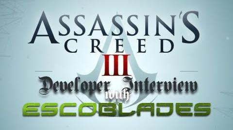 Assassin's Creed III - Developer Interview with Jonathan Cooper (Animation Director)