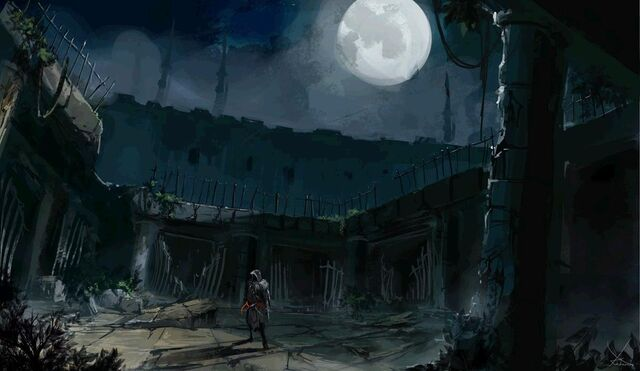 File:Concept art for Vlad the Impaler's Prison Courtyard.JPG