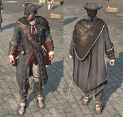 AC3 Haytham Kenway outfit