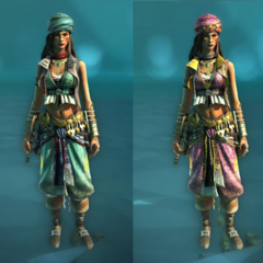 Pirate and Indian Princess costumes for the Rebel