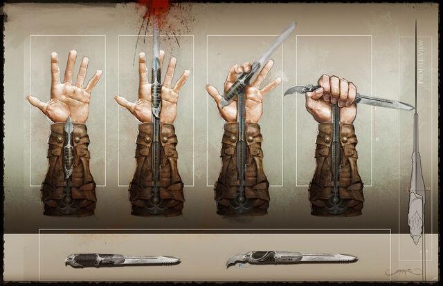 Plik:Connor Hidden blades by Okmer.jpg