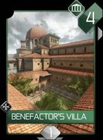 Acr benefactor's villa