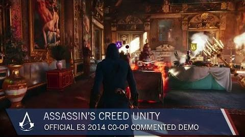 Assassin's Creed Unity Official E3 2014 Co-op Commented Demo US