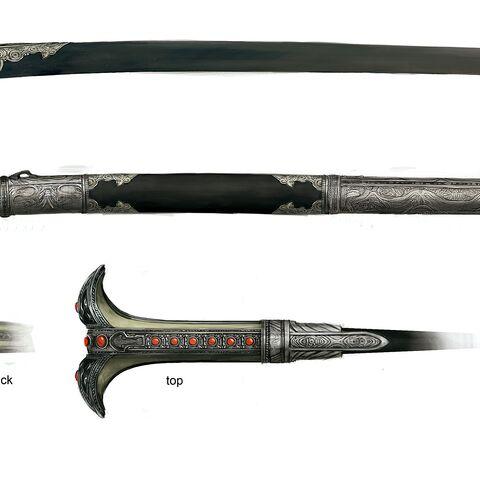 穆斯林刺客剑原画