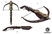 ACR Crossbow concept art by Francis Denoncourt