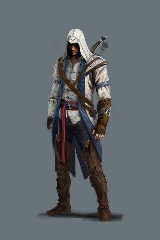 File:Assassin's Creed 3 - Connor concept art by Lewa.jpg