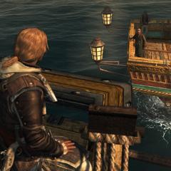 愛德華在海上見施蒂德最後一次面
