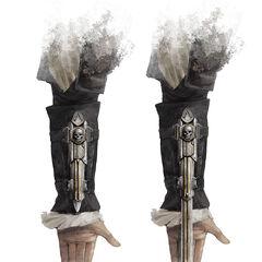 爱德华·肯维袖剑的概念图
