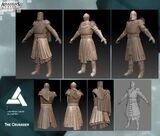 Crusader Texture concepts
