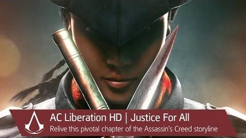 Assassin's Creed Liberation HD Justice For All Trailer