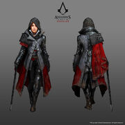 ACS Evie Frye Simply Evie Outfit - Concept Art