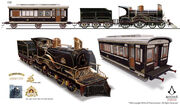 ACS Train Hideout Locomotive 1 - Concept Art