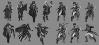 Early Connor Concepts - 2