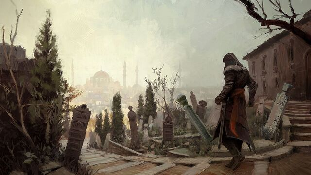 File:Backstreets of Constantinople by Gilles Beloeil.jpg