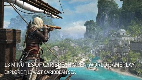 13 Minutes of Caribbean Open-World Gameplay Assassin's Creed 4 Black Flag North America