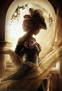 Lady Aveline Portrait by Christopher Dormoy