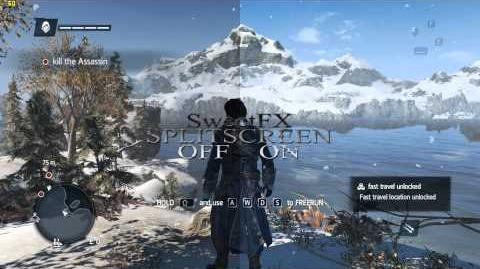 Assassin's Creed Rogue with SweetFX- gameplay PC Improved graphics mod on Windows 8.1