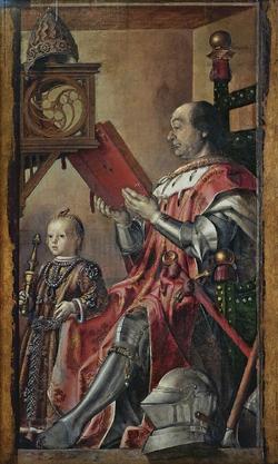 Federico da Montefeltro - By Pedro Berruguete