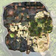 SabaIsland - aerial view