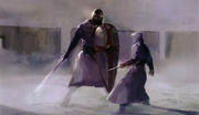 Altair vs Knight concept